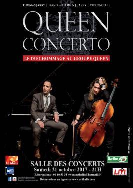 Affiche Queen Concerto