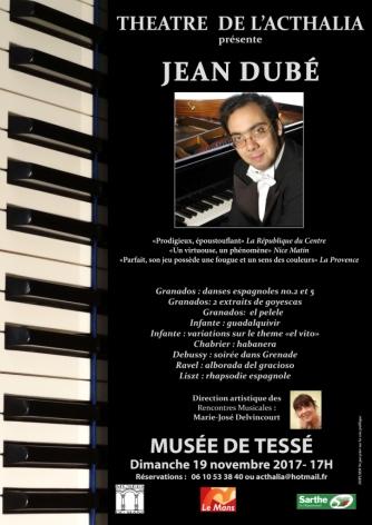 Jean Dubé affiche web