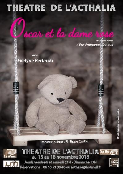 Affiche Oscar et la dame rose nov 2018